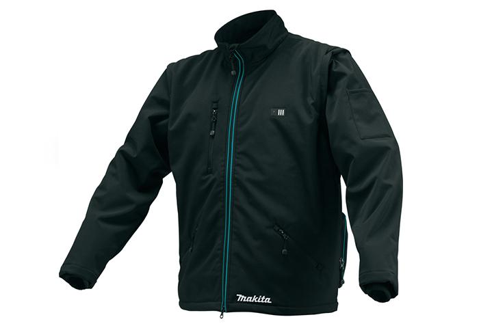 Фото Аккумуляторная куртка с подогревом Makita CJ102DZXL, размер XL (CJ102DZXL)