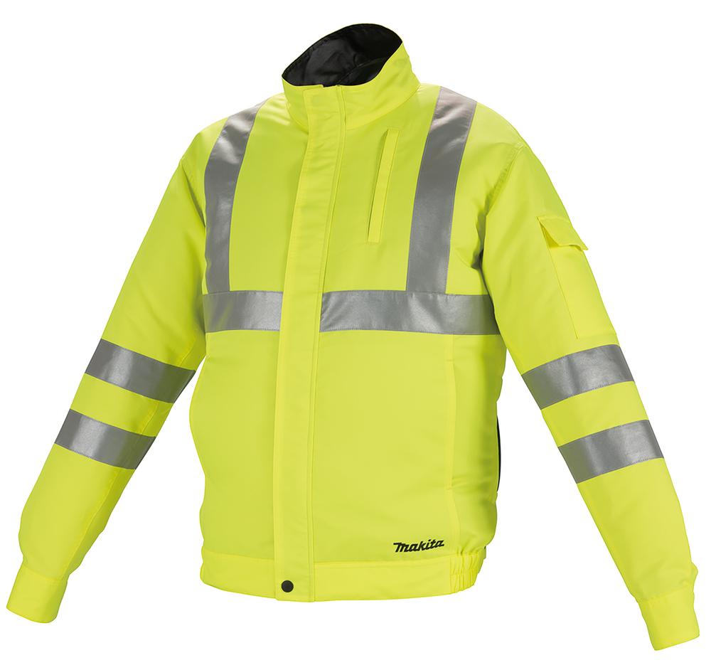Фото Аккумуляторная куртка с вентиляцией Makita DFJ214Z3XL