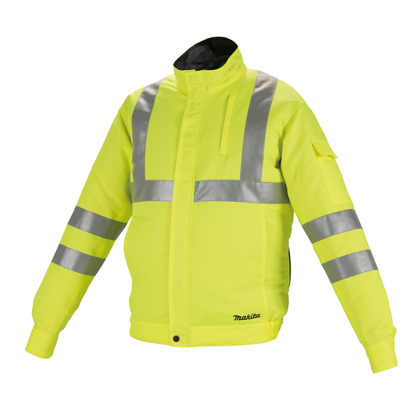 Фото Аккумуляторная куртка с вентиляцией Makita LXT/CXT, 10,8-18В (XL) DFJ214Z2XL