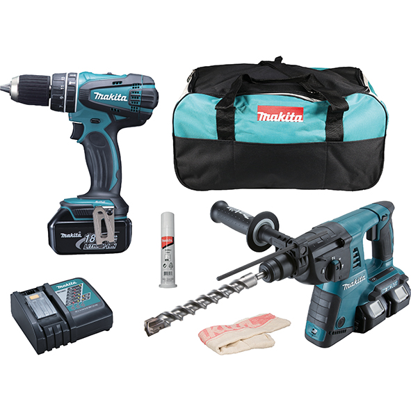 Фото Set LXT Makita DLX2137M