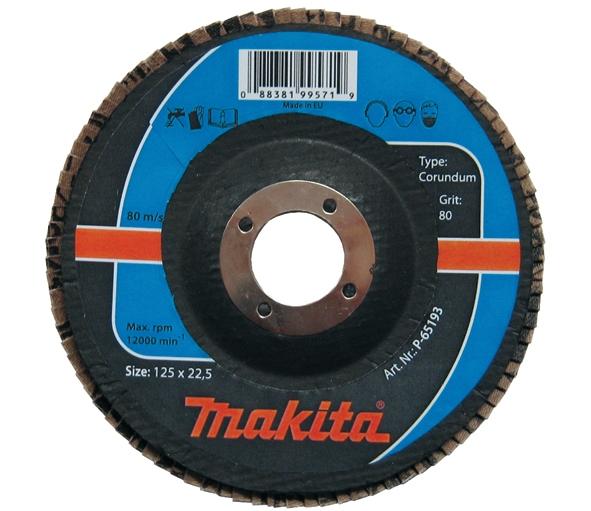 Фото Лепестковый шлифовальный круг Makita P-65143