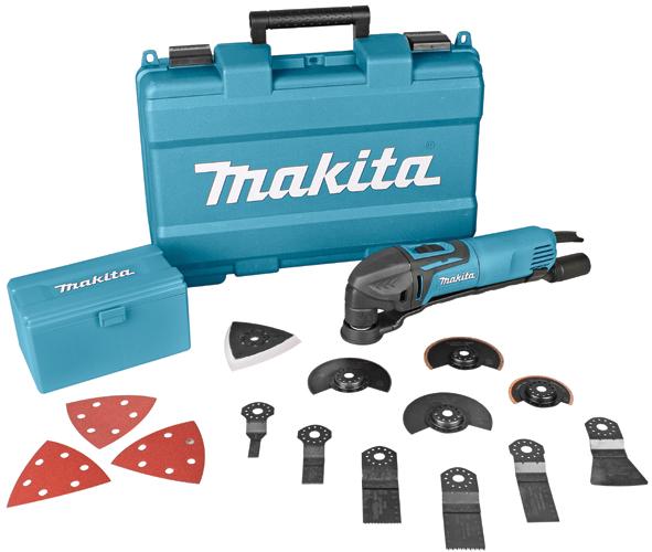 Фото Многофункциональный инструмент Makita TM3000CX3